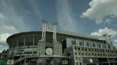 Amsterdam Arena RED EPIC DRAGON 6K R3D Stock Footage