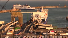 Port of Dover Stock Footage