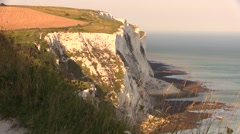 Dover, The White Cliffs Stock Footage