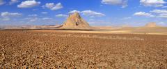 Remains of a volcano, hoggar, ahaggar mountains, wilaya tamanrasset, algeria, Stock Photos