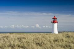 Stock Photo of lighthouse list-west, list, sylt island, schleswig-holstein, germany, europe