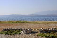 vir island, dalmatia, croatia, europe - stock photo