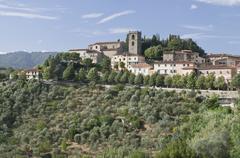 Montecatini alto, tuscany, italy, europe Stock Photos