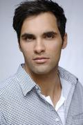 21-year-old mediterranean-looking man, portrait - stock photo