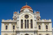 Stock Photo of cathedral of saint minas in heraklion, crete