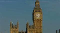 Big Ben mid shot static. 4K - stock footage