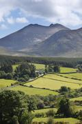 mt. slieve bearnagh, mourne mountains, county down, northern ireland, ireland - stock photo