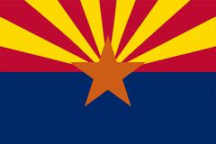 Arizona state flag Piirros