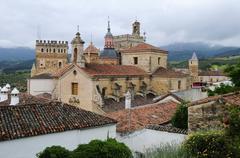 Stock Photo of real monasterio de santa maria de guadalupe monastery, unesco world heritage