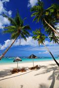 beach, boracay island, philippines, southeast asia - stock photo