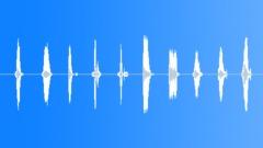 Countdown - Male - Loudspeaker - Old Time Radio Sound Effect