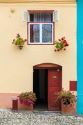 Windows and shutters, close up Stock Photos