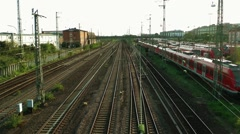 The Train Station Stock Footage