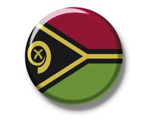 Button badge, flag, vanuatu Kuvituskuvat