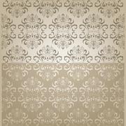 oriental seamless pattern - stock illustration