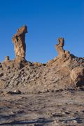 Valle de la luna, moon valley, atacama desert, chile, soth america Stock Photos