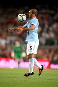 Manchester Citys Argentinian defender Pablo Zabaleta - stock photo