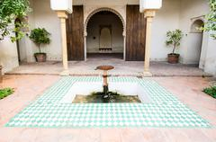 Alcazaba in malaga, spain Stock Photos