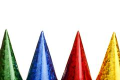 Colourful carnival hats Kuvituskuvat
