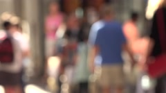 City Pedestrian Stock Footage