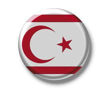 Stock Photo of button badge, flag of cyprus