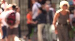 City Pedestrian   - 4k Stock Footage