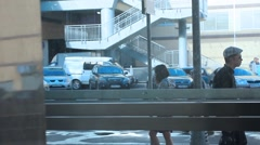 Parking and Urban moscow life Stock Footage