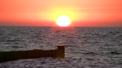 Summer Evening in Ahrenshoop - Baltic Sea, Northern Germany Stock Footage