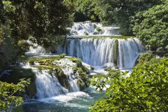 Stock Photo of krka waterfalls, krka national park, dalmatia, croatia, europe