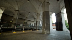 City Hall subway station New York City Civic Center Lower Manhattan, NYC, USA - stock footage