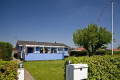 Stock Photo of allotment garden, copenhagen, denmark