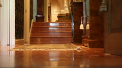 Foyer Floor Stock Footage