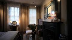 Stock Video Footage of Cozy Bedroom II