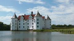 Glücksburg castle, Glücksburg, Germany Stock Footage