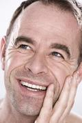 Stock Photo of portrait of a smiling man