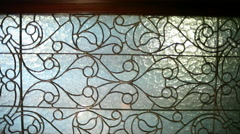 Intricate Stained Glass Stock Footage