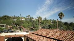 Hacienda Rooftop Stock Footage