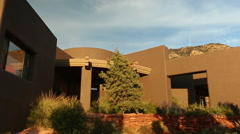 Geometric Home Exterior Stock Footage