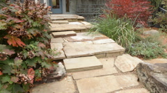 Stone Steps Stock Footage