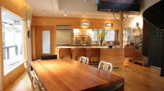 Dining Room/Kitchen Stock Footage