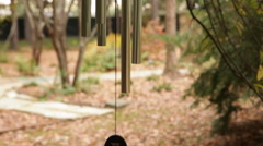 Scenic Wind Chimes Stock Footage