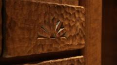 Decorative Brick Stock Footage