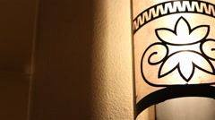 Lamp Decor Stock Footage