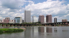 Richmond, Virginia, USA - stock footage