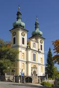 Stock Photo of donaueschingen - the st. johann cathedral - baden wuerttemberg, germany, euro