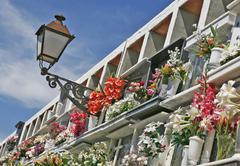 Spanish cementary, spain Kuvituskuvat