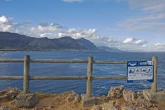 Stock Photo of hermanus view point for whales walker bay, hermanus, south africa, africa