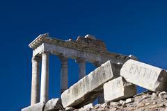 Foro romano, rome, italy Stock Photos