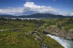 jotunheimen national park, norway, scandinavia - stock photo
