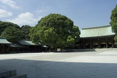 Meji shrine tokyo japan Stock Photos